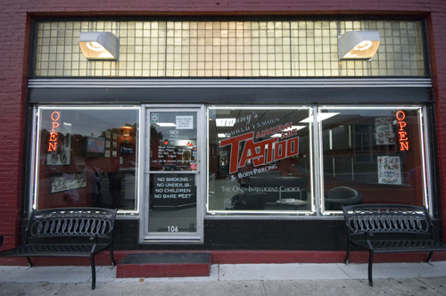 Ancient Art Tattoo Studio ®, Virginia's First Professional Tattoo Studio was